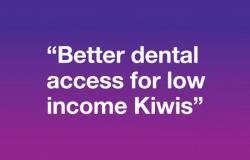 "NZDA pushes the ""Better dental access for low income Kiwis"" message"